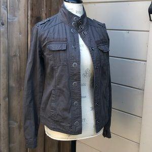 Maurice's grey utility style jacket